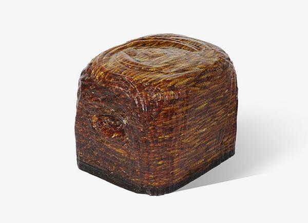 Устойчивый табурет Banque из древесной смолы и пшеницы