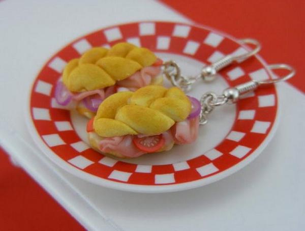 Сендвич - серьги от Shay Aaron