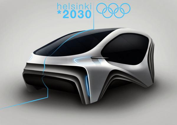 Концепт AAVA, разработанный для Олимпийских игр 2030