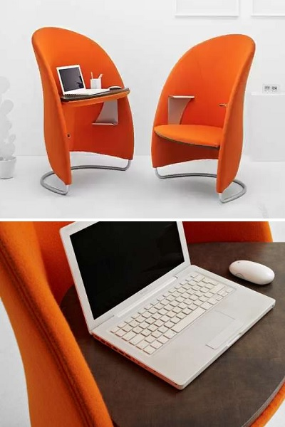 Multifunctional Hully - креативный рабочий стол-трансформер от Venezia Homedesign Team и Michele Franzina