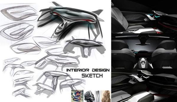 Разработка дизайна Audi Crossover