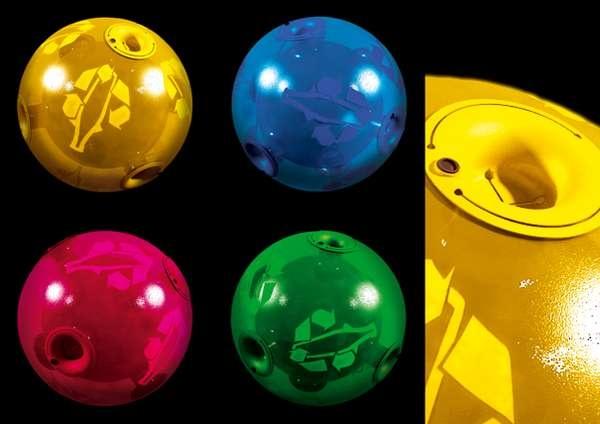 Bin Ball – креативный мусорный контейнер, созданный специально для вечеринок