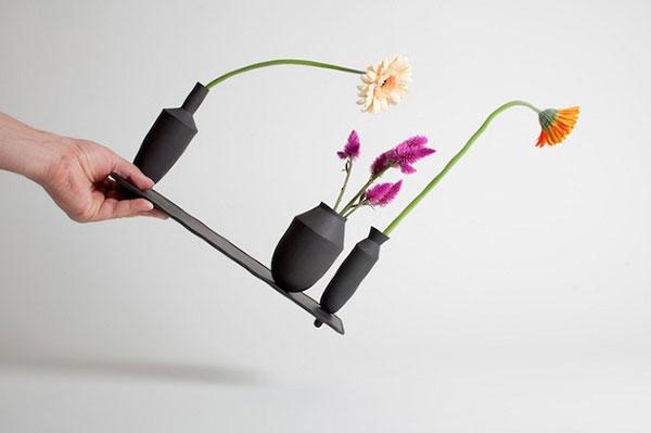 Три вазы в одной конструкции