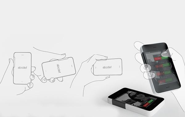 Концепт чехла для смартфонов capacitive sensing