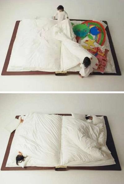 Необычное постельное белье для детей и взрослых, мечтающих спасть в сказке, от Yusuke Suzuki
