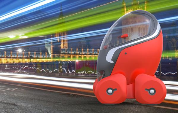 Компактный, экологичный и безопасный концепт-кар City Egg