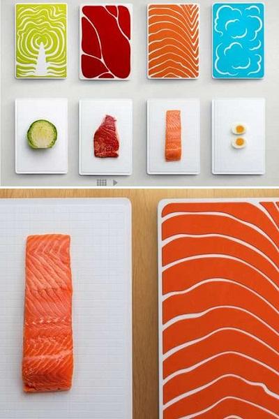 Slice Cutting Board Set - набор разделочных досок для гигиеничной готовки