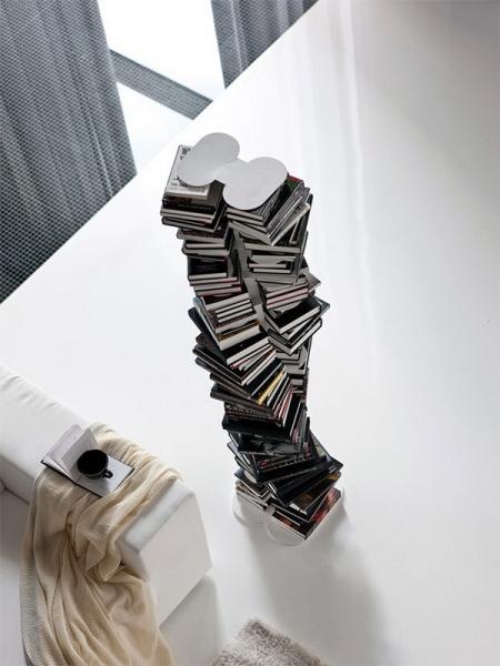 Книжный шкаф-невидимка Milano