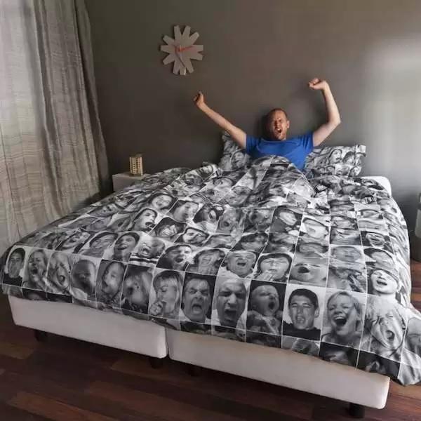 Необычное постельное белье для быстрого засыпания от Snurk Beddengoed