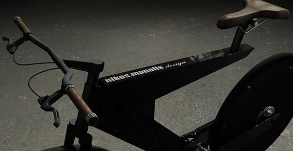 E-bike оснащен легкой и прочной слоистой рамой
