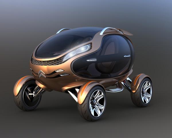 Экологичный концепт купе Citroen EGGO