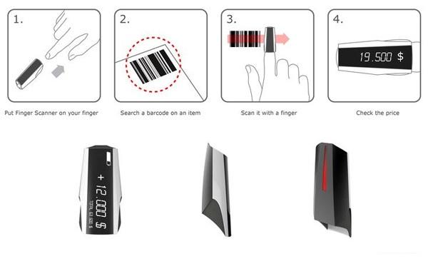 Концепт Finger Scanner