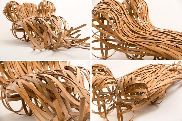 Flow: бамбуковое кресло от тайваньских дизайнеров