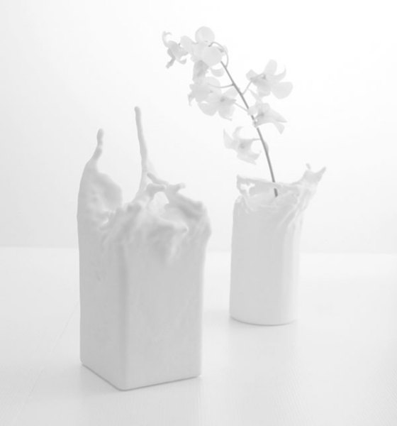 Жидкая ваза от Kwok Pan