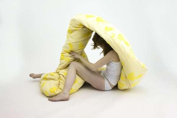 Forever Blanket от BCXSY - дизайнерская подушка, скрещенная с матрасом и одеялом