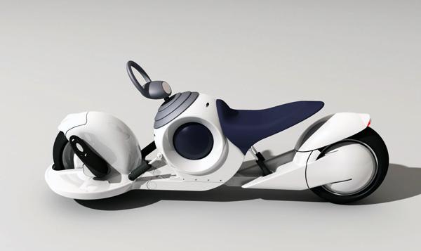 Концепт футуристичного мотоцикла Gyrobike