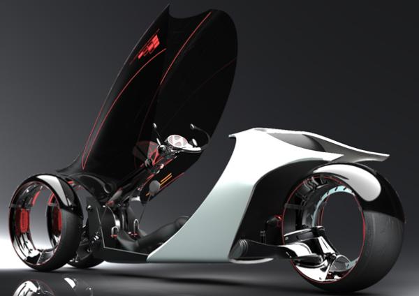 Концепт футуристичного три-виллера Hyundai Aebulle