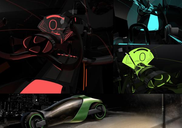 Дизайн интерьера Hyundai Aebulle