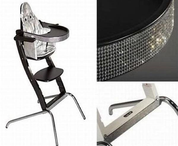 Icansit Blinged Baby Seat – оригинальное детское кресло с кристаллами Swarovski