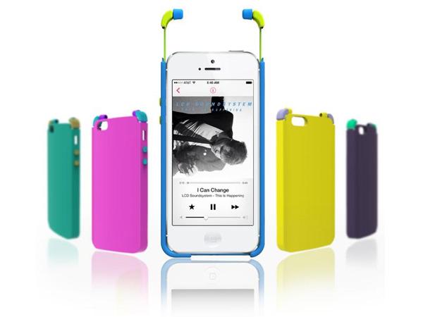 Корпус для смартфона ICE со встроенными наушниками