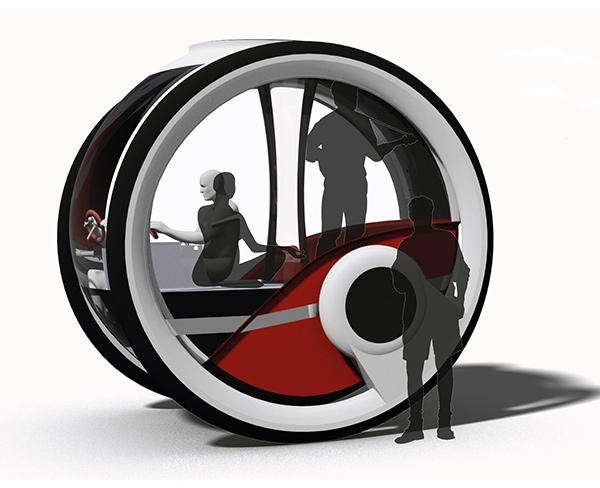 Концепт дома на колесах Infinitlar