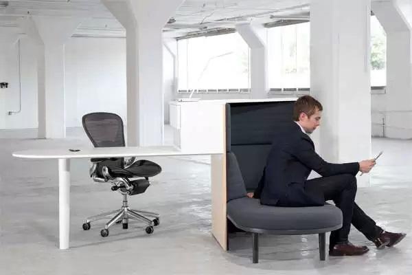 Integrated Workstation - креативный рабочий стол от Herman Miller