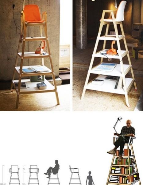 La Cultura Eleva – оригинальный стул для взрослых, оформленный в детском стиле