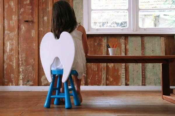Little Angel Stool – детское сидение, настраивающее родителей на оптимистичный лад