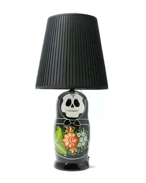 Готическая матрешка Suicoke Matryushka Doll lamp - настольная лампа от Zozograndh