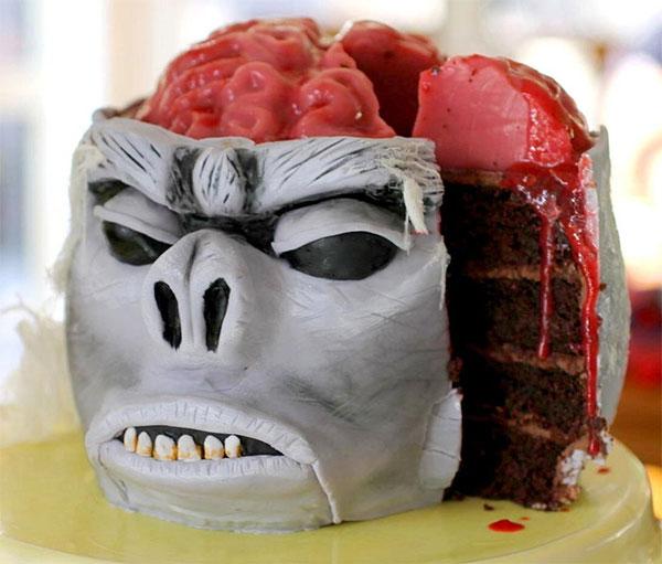 мозги бывают вкусными, если они из мастики
