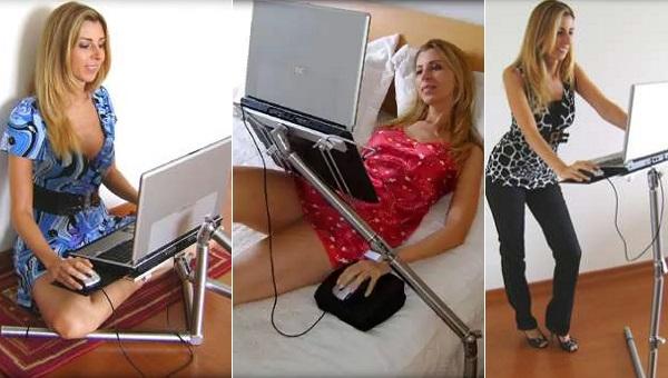 Multi-Position Laptop Stand - мобильное рабочее место от Motta
