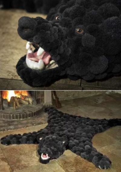 Ковер-плюшевый медведь из серии Bommel Collection от Myk