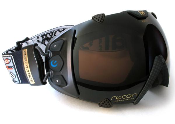 Концепт интерактивных горнолыжных очков Recon Transcend
