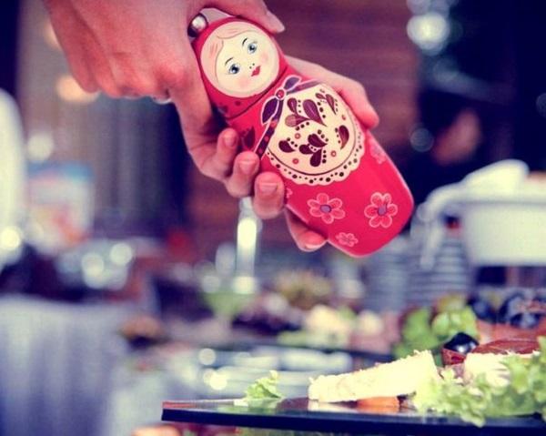 Russian Doll Pepper Grinder - мельница для перца в форме матрешки