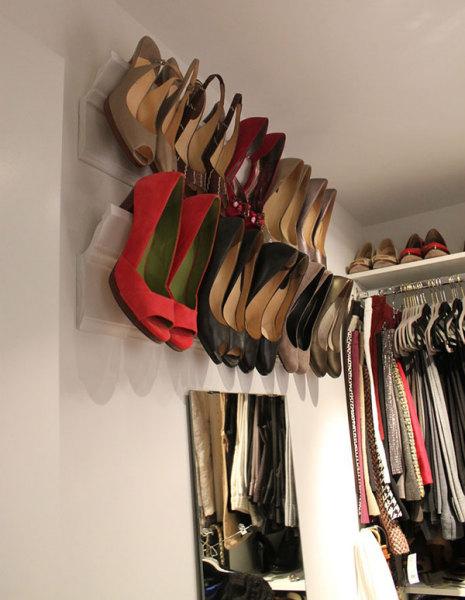 Метод хранения обуви на каблуках
