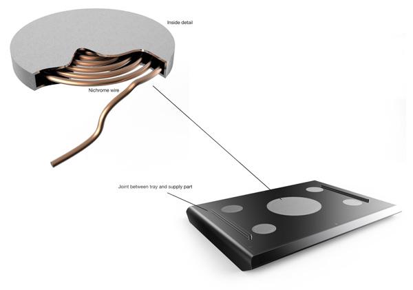 Нагревающий элемент Smart Tray