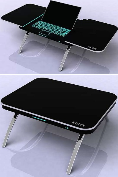 Fusion Table от Sony - кофейный столик с рабочей 'начинкой'