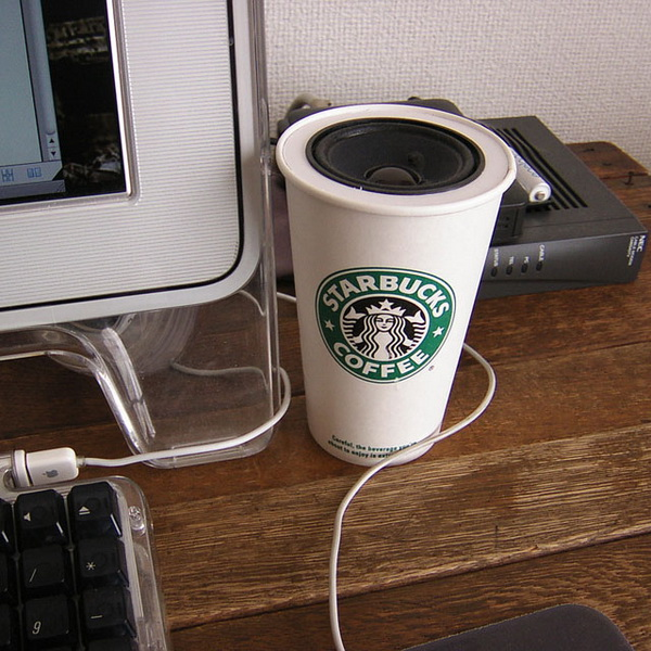 динамики - чашечка кофе со Starbucks