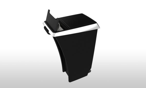 Креативные и удобные мусорные контейнеры от Ahha Project