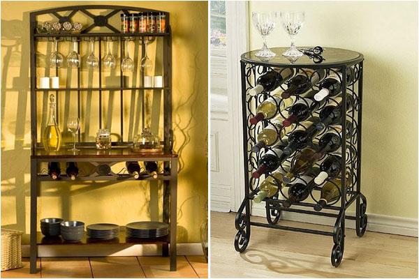 Напольные стеллажи для вина
