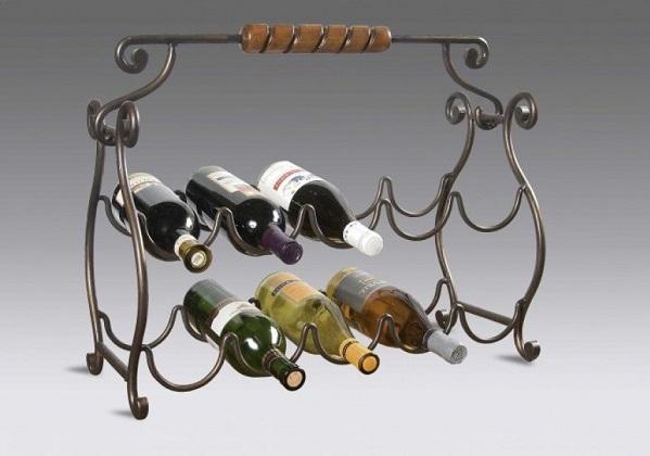 Настольный стеллаж для вина