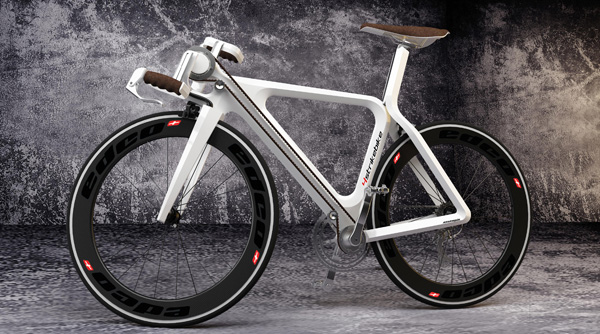 Концепт велосипеда 4StrikeBike с четырьмя педалями