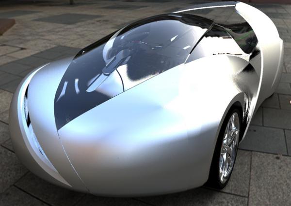 Концепт The Car of Light