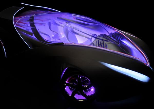 Концепт-кар The Car of Light