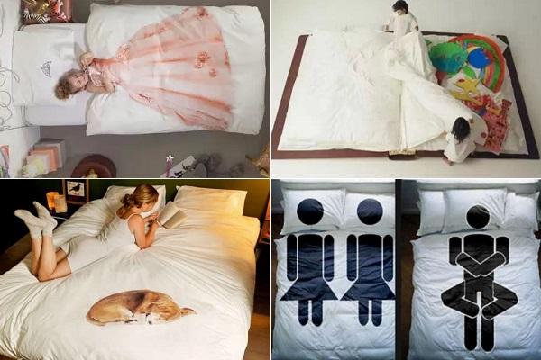 Необычное постельное белье для детей и взрослых