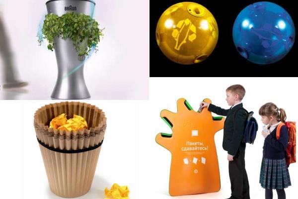 Креативные и удобные мусорные контейнеры