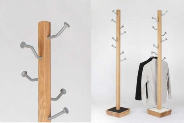 Незамысловатые вешалки MOT Hanger - идея оригинального использования веток в интерьере от Jongho Park Hits