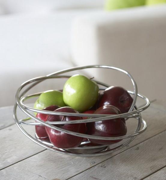 необычная ваза для фруктов