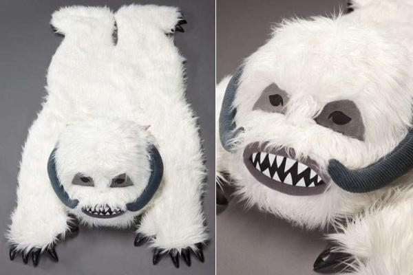 Wampa rug - ковер-альтернатива медвежьей шкуре для фанатов 'Звездных войн'