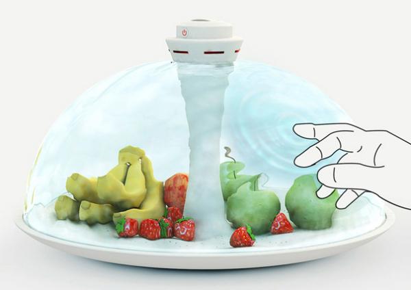 """Блюдо """"Water Shade"""" с водным колпаком: водопад на вашей тарелке"""